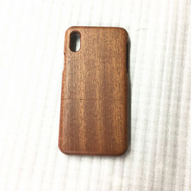 China Kirsche-/Sapele hölzerner iPhone X Fall, der Art rundes Rand-Modell trennt distributeur